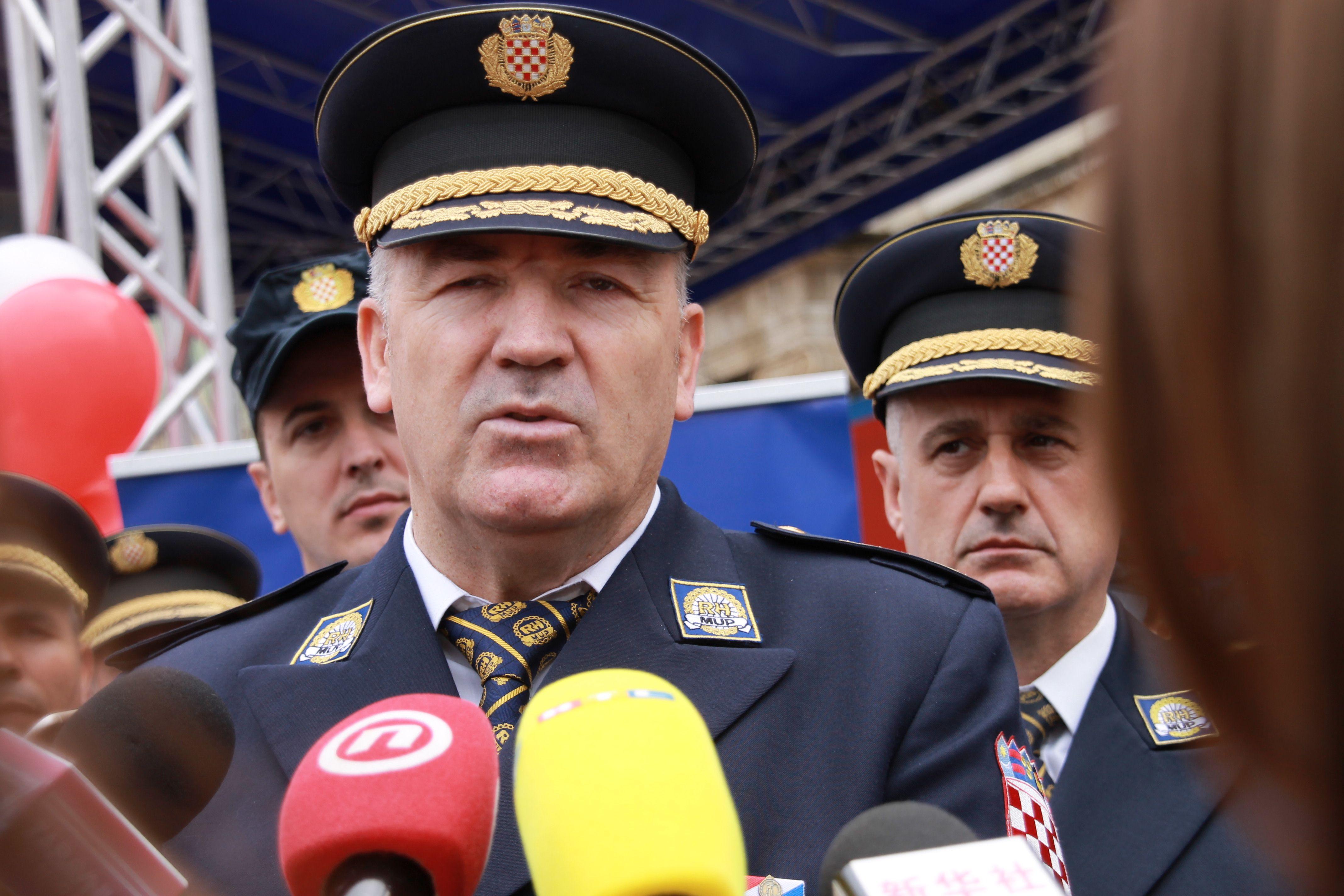 Ravnatelj policije Milina o Mariću: Policija radi na svim predmetima koje dobije od državnog odvjetništva