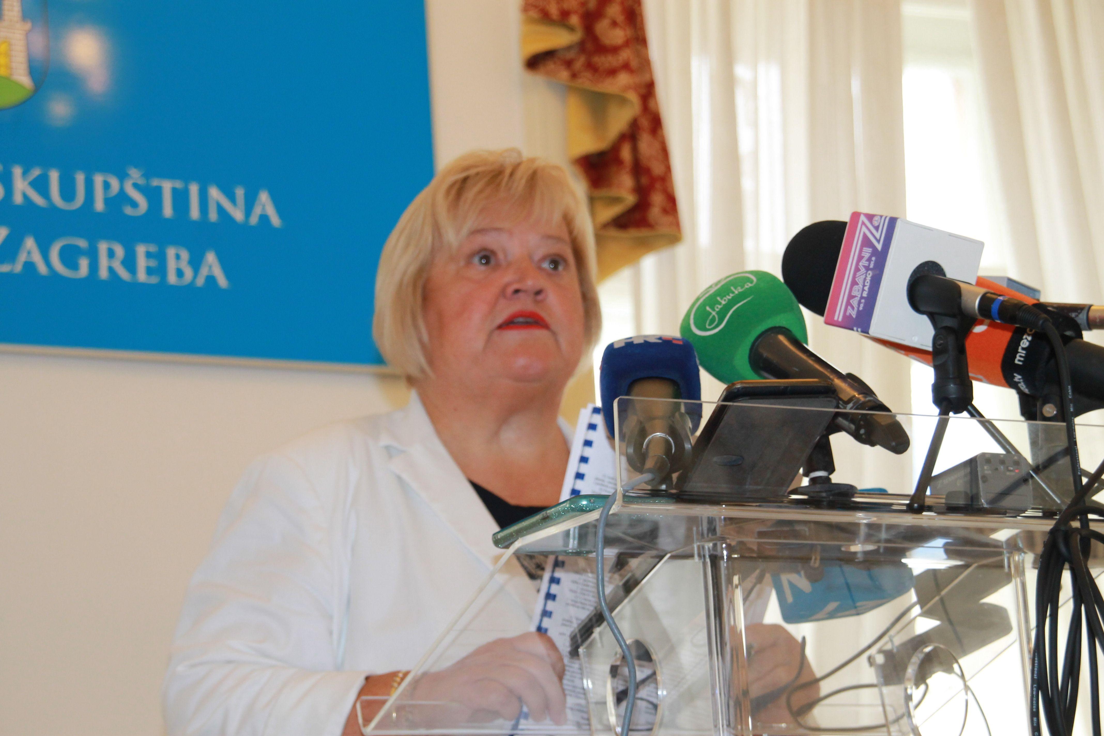 Mrak-Taritaš: Izmjenom GUP-a Bandić devastira Donji grad, stanje je alarmantno, a odgovornost je i na Plenkoviću