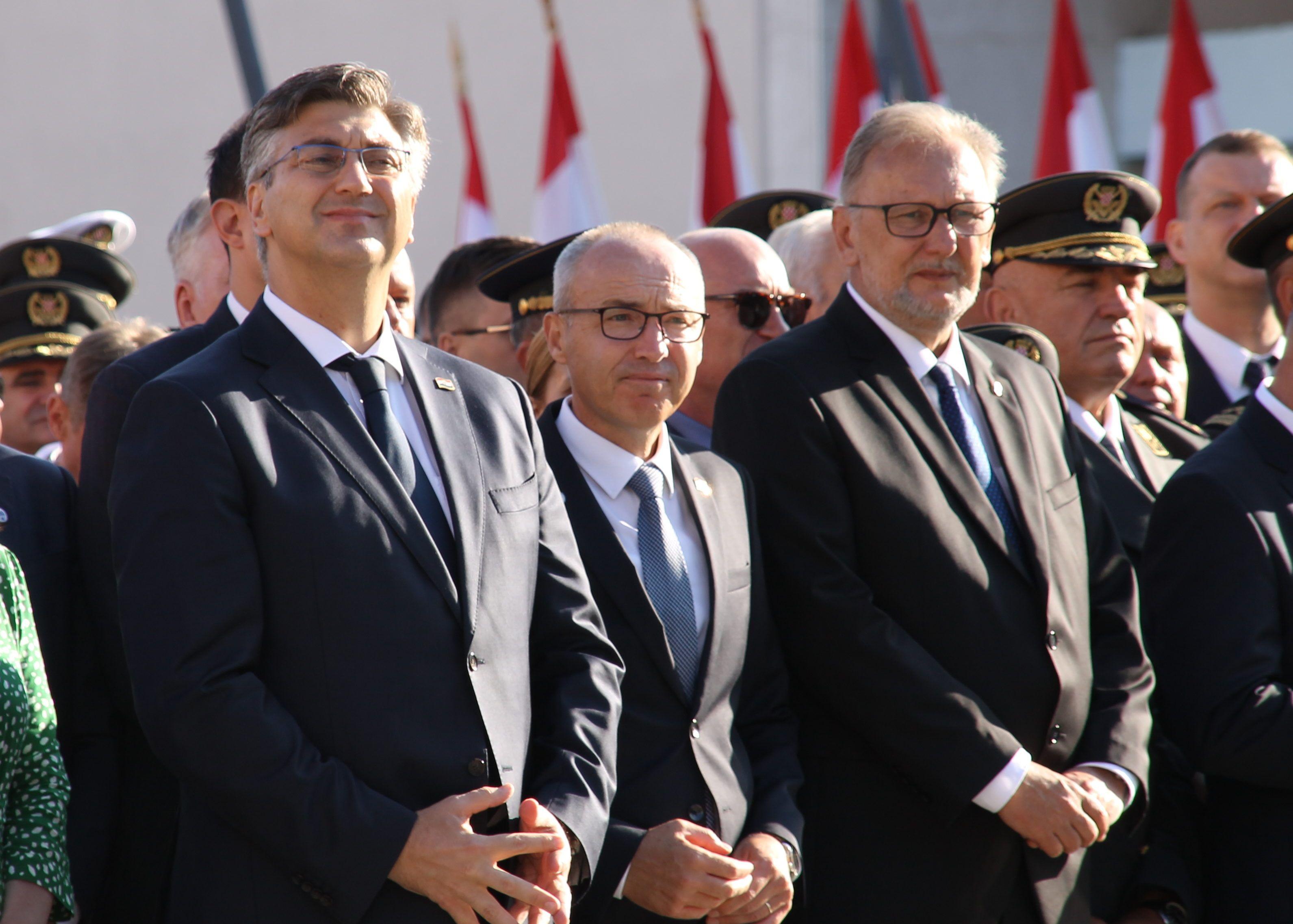 Božinović: Plenković nije u opasnosti zbog Karamarkove kandidature
