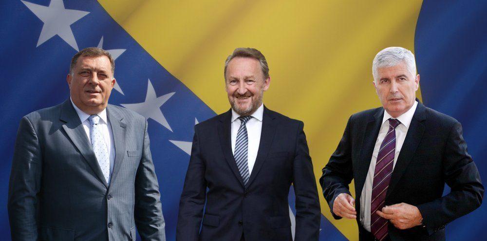 Pet zapadnih veleposlanstava pozvalo na uspostavu vlasti u Bosni i Hercegovini