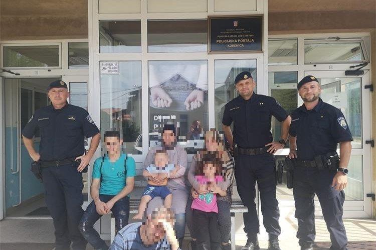 Policija na Plješevici spasila šest iscrpljenih migranata