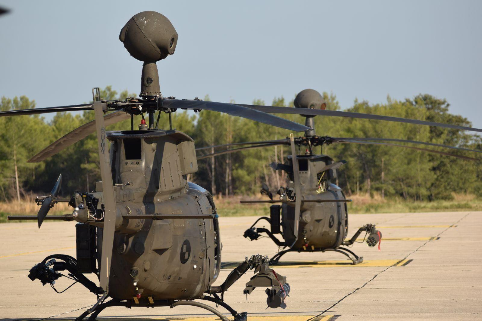Helikopteri Kiowa Warrior HRZ-a na međunarodnom zrakoplovnom mitingu