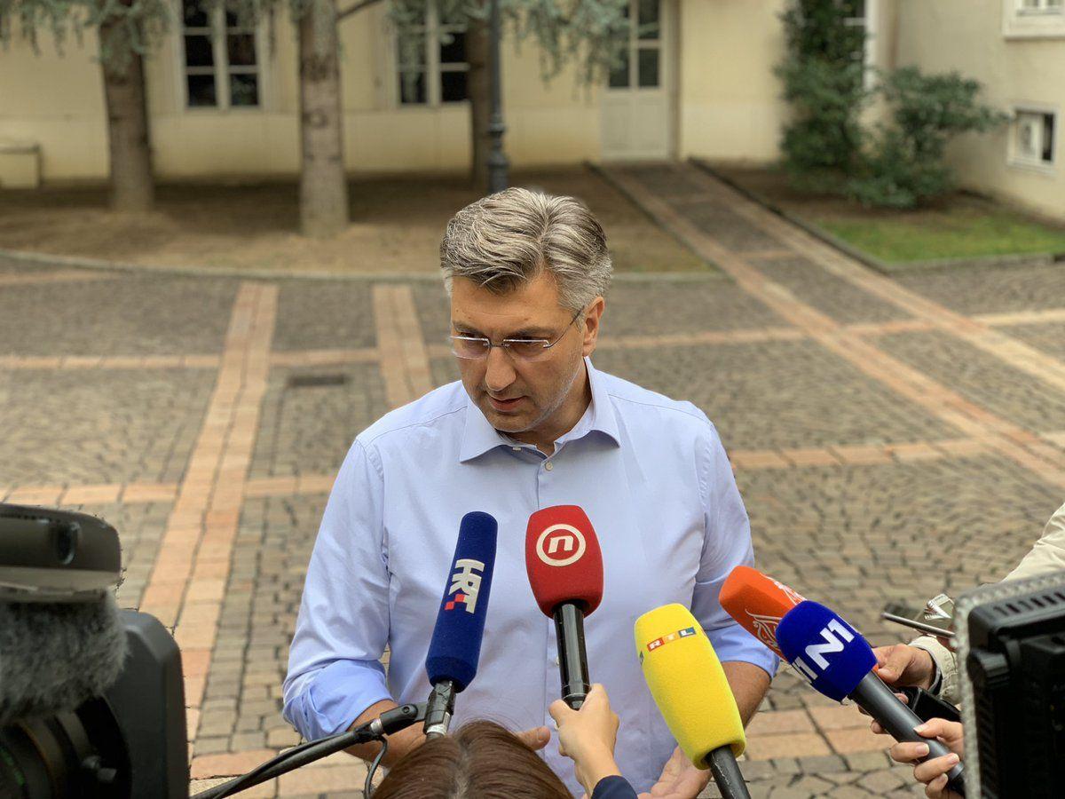 Plenković: Pripadnici vojske Srbije u Hrvatsku htjeli ući kršeći međunarodno pravo, u cilju izazivanja incidenta
