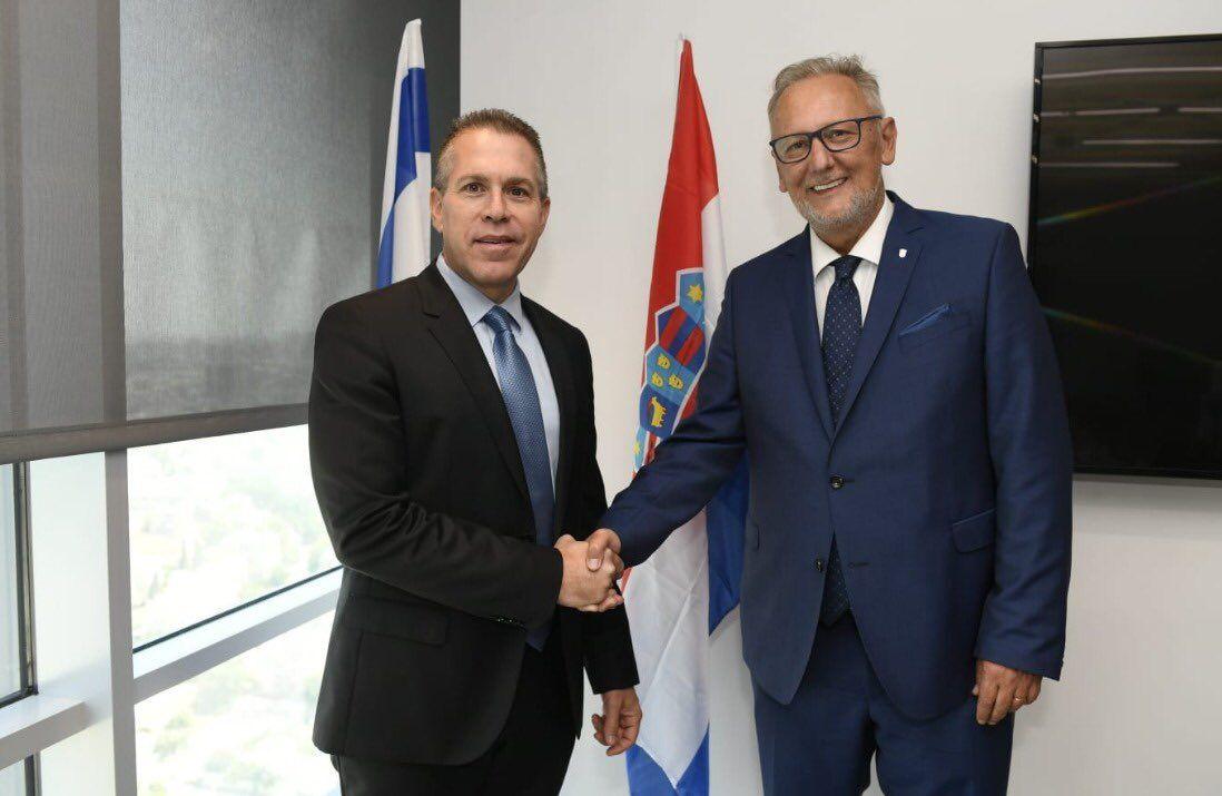 Potpisan sporazum o suradnji na području javne sigurnosti između Hrvatske i Izraela