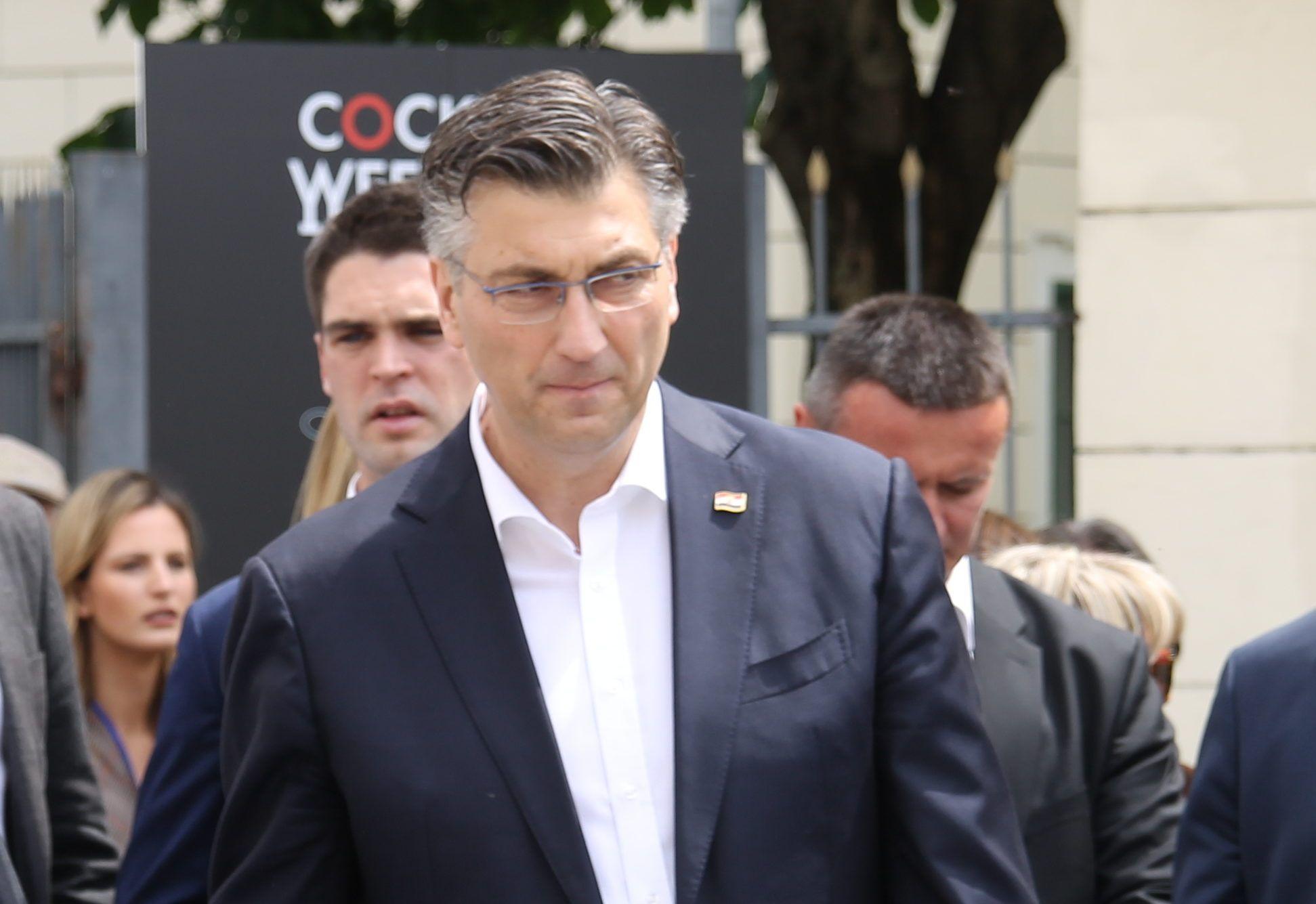 Plenković: Koalicija stabilna, većina u parlamentu nije upitna, ne znam što će Pupovac reći na pressici