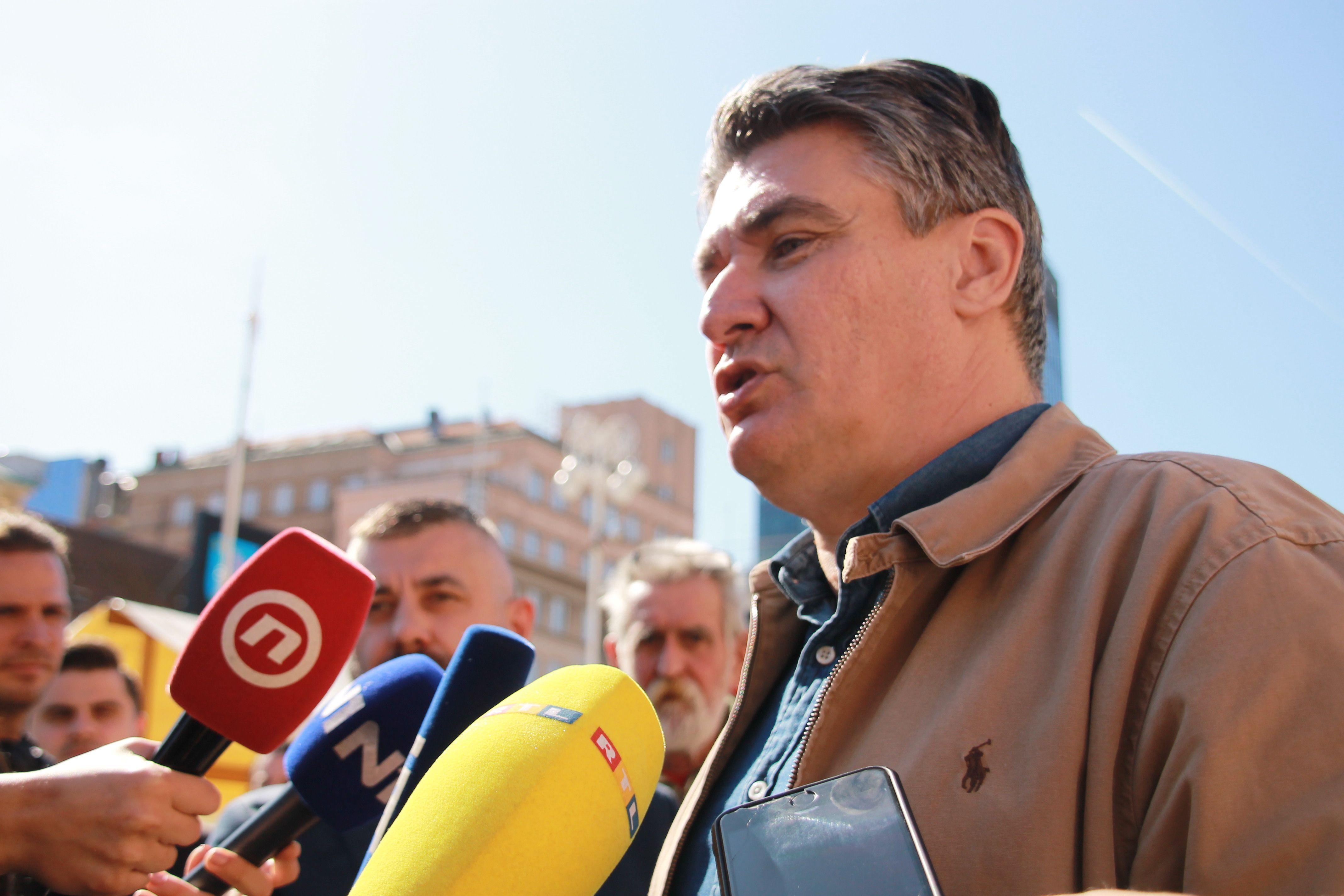Milanović: U Hrvatskoj je najveći problem što HDZ ima monopol vlasti, paravlasti, a imamo predsjednicu koja nas sramoti i to je za Hrvatsku jako štetno