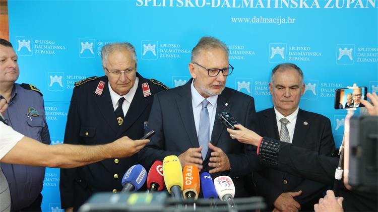 """Božinović: Policija učinila sve da utakmica Hrvatska-Mađarska protekne u redu; """"Imam puno povjerenje u naše policijske snage"""""""