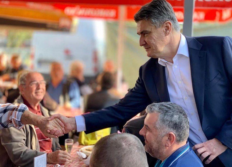 Milanović kampanju nastavlja pod sloganom 'Normalno'