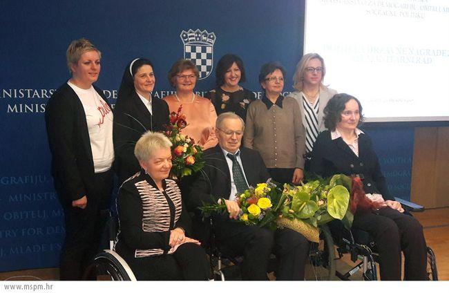 S. Jelena Lončar – dobitnica Državne nagrade za humanitarni rad