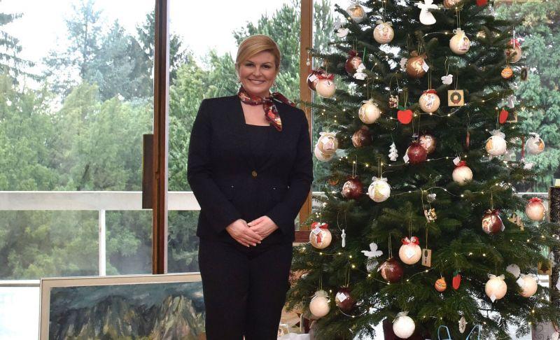 Božićna čestitka Predsjednice Republike Hrvatske