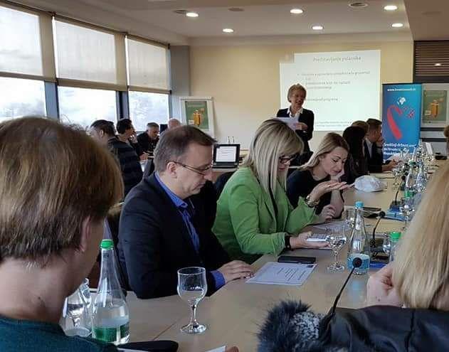 """Seminar na temu 'Upravljanje projektima, mobilnost i konkurentnost na tržištu rada"""" održan u Bosni i Hercegovini"""