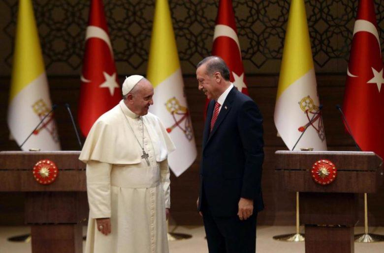Papa i Erdogan telefonom o pitanju Jeruzalema