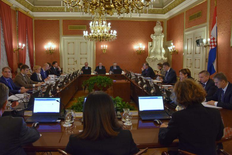 Plenković sa sjednice vlade uputio poruke Srbiji i Sloveniji