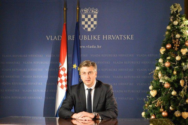 Plenković u novogodišnjoj čestitki: U 2018. čeka nas provedba strukturnih reformi