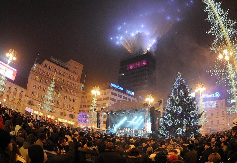 Doček Nove godine u Zagrebu