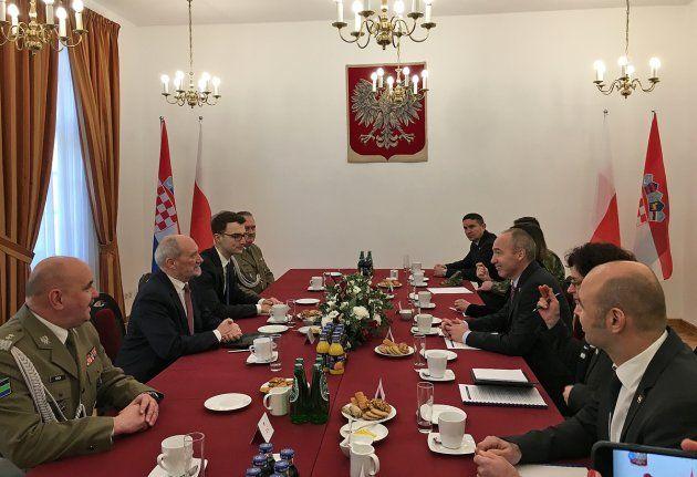 Krstičević i Macierewicz najavili sporazum o obrambenoj suradnji Poljske i Hrvatske