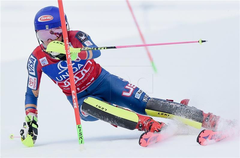Slalom (ž): Nova pobjeda Mikaele Shiffrin