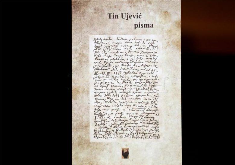 """Predstavljena knjiga """"Tin Ujević – pisma"""""""