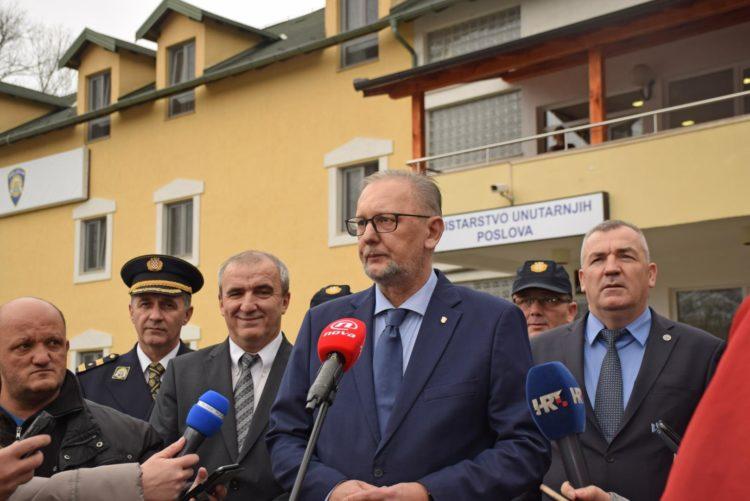 Ministar Božinović posjetio Smještajno-obučni centar granične policije