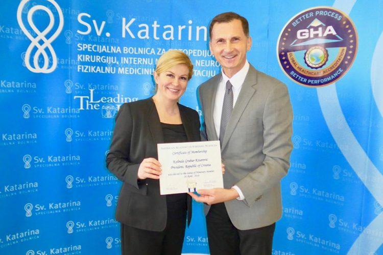 Predsjednica Grabar Kitarović postaje članica AAFS-a