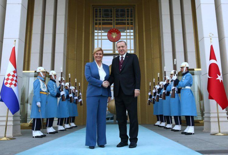 Predsjednica Kolinda Grabar-Kitarović u posjetu Turskoj