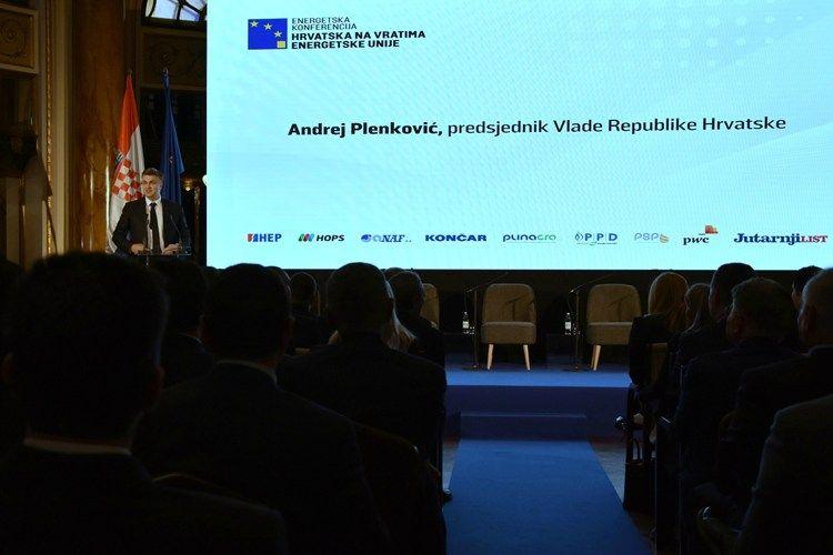 Plenković: Energetska unija novi je okvir za ostvarenje naše nacionalne energetske politike