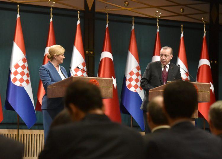 Predsjednica u radnom posjetu Republici Turskoj