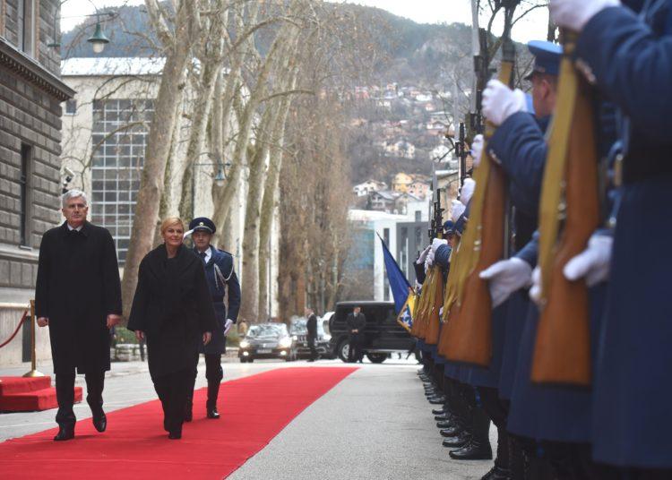 Predsjednica Republike u službenom posjetu Bosni i Hercegovini