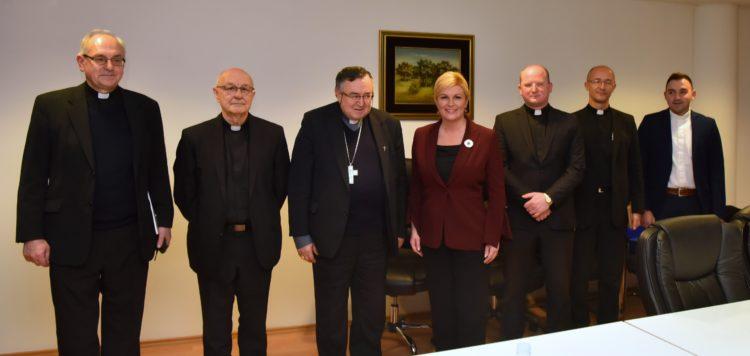 Radni sastanci Predsjednice Grabar Kitarović u sklopu službenog posjeta Bosni i Hercegovini