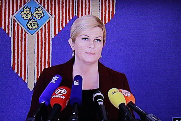 Predsjednica Republike Grabar-Kitarović pozvala Aleksandra Vučića u Zagreb