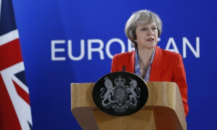 Theresa May za novi sporazum s EU-om o sigurnosti