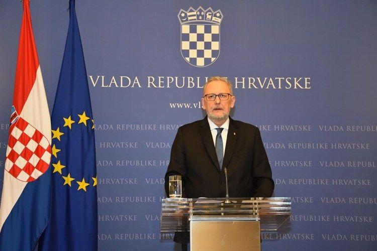 Božinović o prijedlogu zakona kojim se Hrvatska približava Schengenu