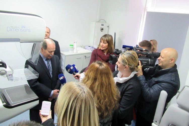 Novi digitalni uređaj za mamografiju u riječkom KBC-u