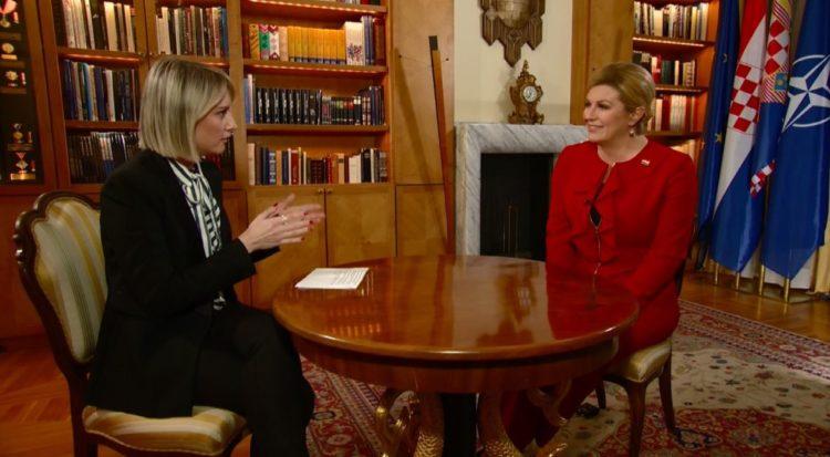 """INTERVJU-Predsjednica Grabar-Kitarović: """"Vučić s kojim sam ja razgovarala je europski Vučić"""""""