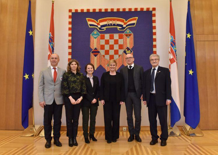 Predsjednica Grabar-Kitarović primila izaslanstvo Međunarodnog odbora Crvenog križa