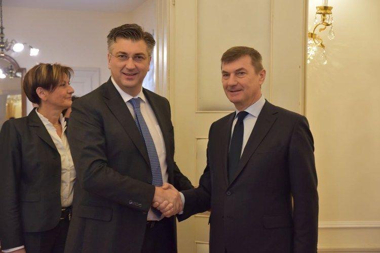 Plenković s potpredsjednikom EK Ansipom na sastanku i konferenciji o jedinstvenom digitalnom tržištu