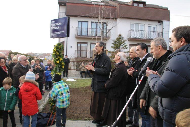 Na zagrebačkom Bukovcu svečano otvoren Park o. Vjenceslava Miheteca