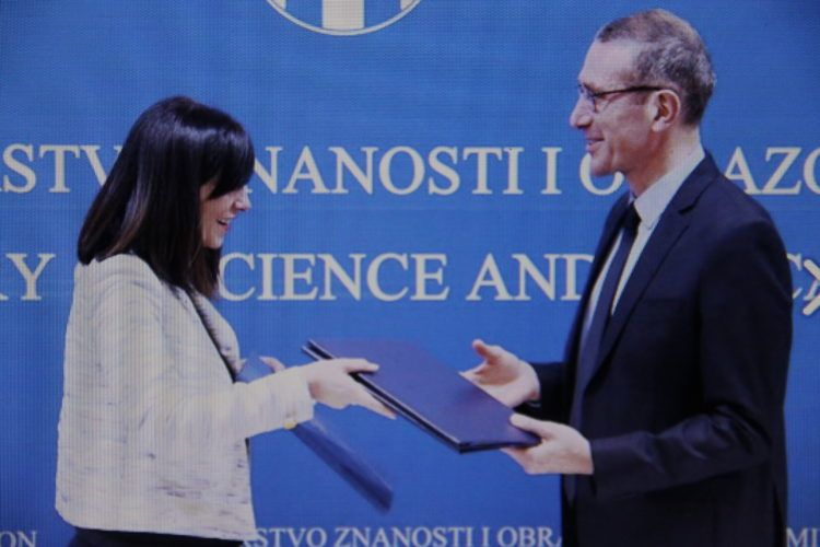 Ministrica Divjak potpisala sporazum o suradnji s Europskom svemirskom agencijom