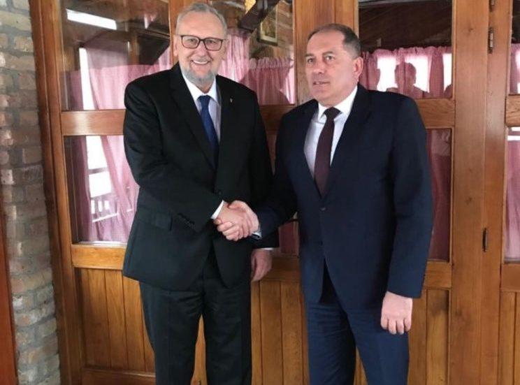 Ministar Božinović i Mektić o jačanju suradnje i upravljanju migracijama