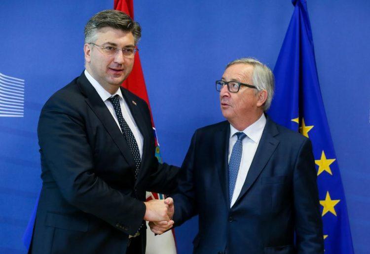 Plenković: Hrvatska želi biti dio unutarnjeg kruga članica EU i za to ima potporu Komisije