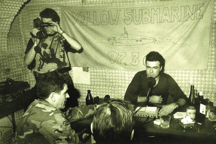 """Monografija o """"Žutoj podmornici"""", osječkoj radijskoj postaji iz Domovinskog rata"""