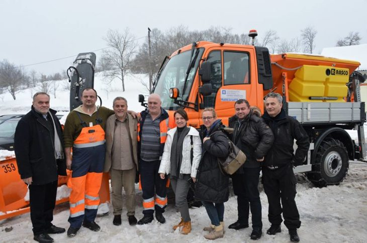 Bandić u Krnjaku: Zagreb ima najjaču zimsku službu i volimo pomagati, to je ljudski