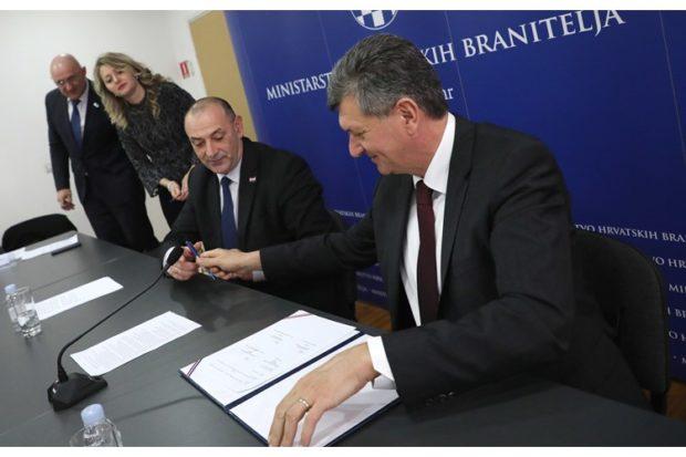 Medved i Kujundžić potpisali sporazum o suradnji na provođenju Programa preventivnih sistematskih pregleda hrvatskih branitelja