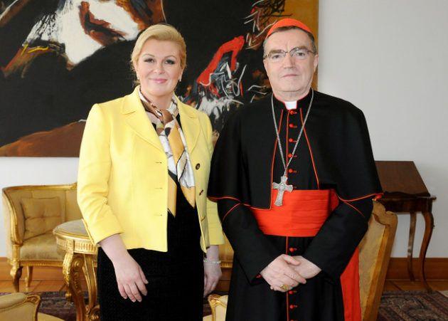 Kardinal Bozanić čestitao Uskrs predsjednici Republike Grabar-Kitarović te zaželio da je  Bog nagradi za trud uz napredak i prosperitet Domovine