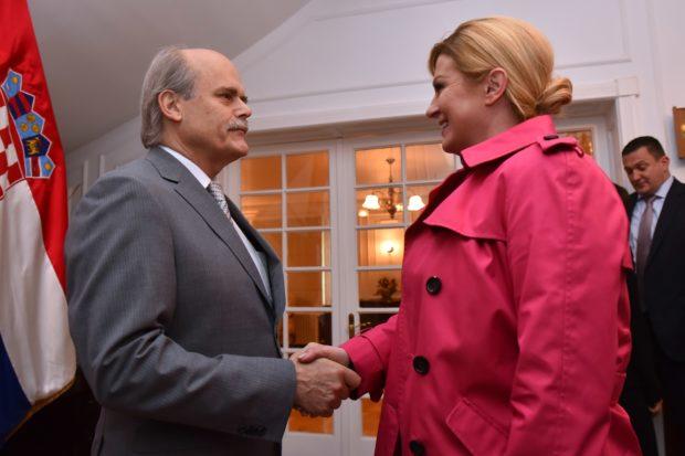 Predsjednica Republike Grabar-Kitarović posjetila grad Punta Arenas u pokrajini Magallanes