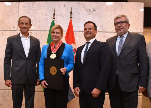 Predsjednica Grabar-Kitarović razgovorom s predsjednikom Industrijske federacije države São Paulo završila radni posjet Saveznoj Republici Brazilu