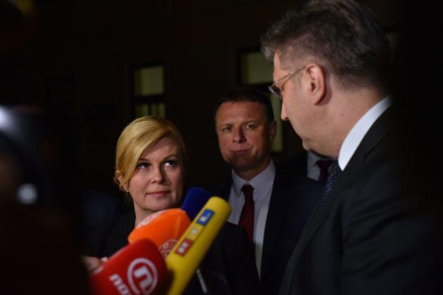 Predsjednica Grabar-Kitarović i premijer Plenković: Odluka o zrakoplovima donesena u skladu s potrebama i mogućnostima