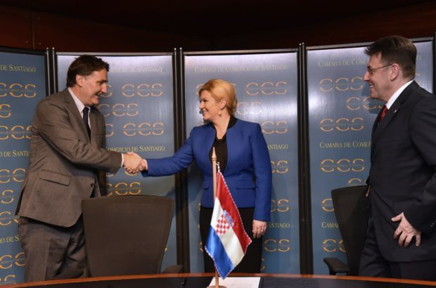 Predsjednica Kolinda Grabar-Kitarović sudjelovala na čileansko-hrvatskom gospodarskom forumu
