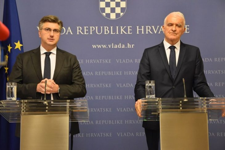"""Plenković: HOS-ov grb s natpisom """"Za dom spremni"""" samo u komemorativne svrhe uz prethodno dopuštenje"""