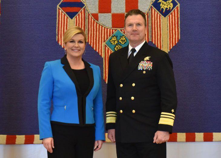 Predsjednica Grabar-Kitarović primila zapovjednika NATO Zapovjedništva za specijalne operacije